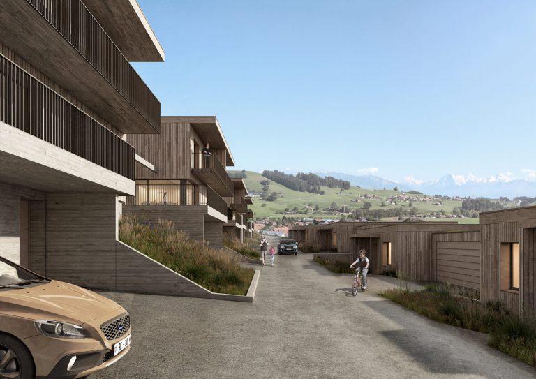 Architekturvisualisierung Digitalnity Schweiz