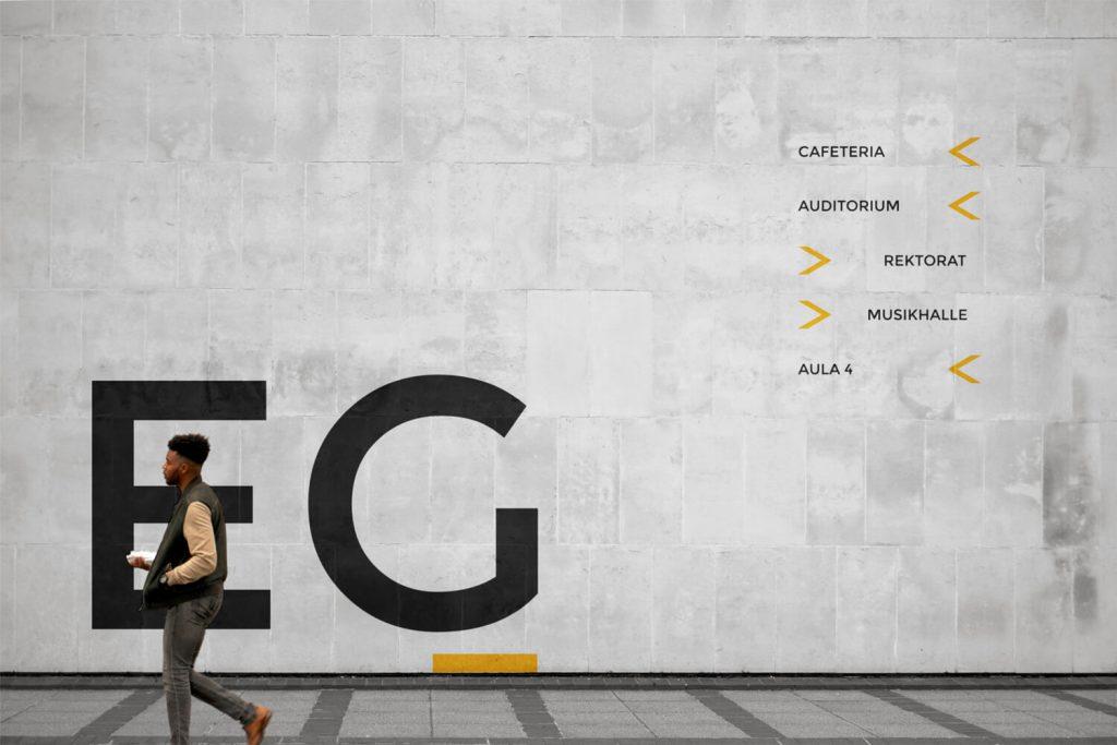 Signaletik Digitalnity Schweiz